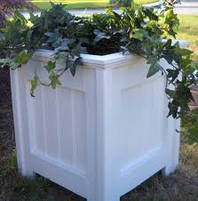Shabby Chic Planters by Planter Outdoor Planter Shabby Chic White By Southernbarndesigns