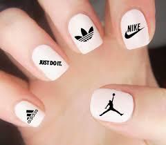 air jordan nail decal nike nail decal adidas nails
