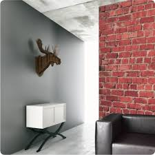 red brick removable wallpaper https www thewallstickercompany