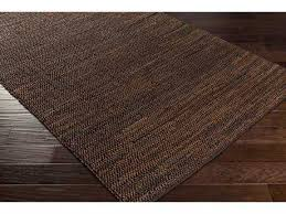 Brown Area Rug Leather Rugs Leather Area Rugs For Sale Luxedecor