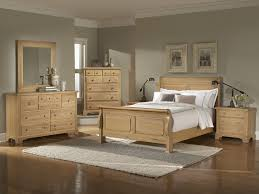 Modern Wooden Bed Furniture Oak Bedroom Furniture Sets Washed Oak Queen Sleigh Bedroom