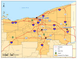 Map Cleveland Ohio by City Of Cleveland Economic Development Area Maps
