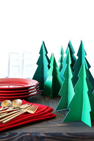 pine forest centerpiece for christmas dinner paging supermom