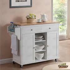 white movable kitchen island kitchen design