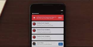 crush for android snowball for android prioritizes mobile notifications bringing up