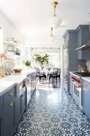 Kitchen Floor Tile by Modern Deco Kitchen Reveal Emily Henderson