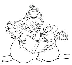 large snowman coloring page large snowman coloring page and abominable snowman coloring pages