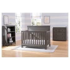 Rustic Convertible Crib Simmons Slumbertime Monterey 4 In 1 Convertible Crib Rustic