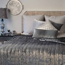 kevin o u0027brien studio bedding hand sterling knotted velvet quilt