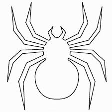 sweet design spider coloring pages halloween to print for toddlers