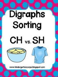 sorting digraph pictures sorting pictures and classroom freebies
