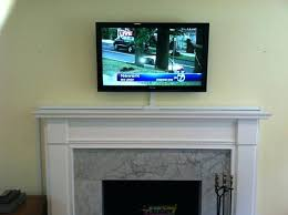 how high to hang tv above fireplace u2013 thesrch info