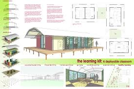 sustainable architecture design portable classroom the learning