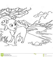 free printable goat coloring sheet contegri com