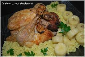 cuisiner le poulet poulet farci à la créole et riz pilaf curry citron cuisiner