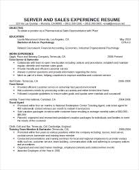 jackson resume waitress resume download server resume sample