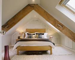 attic bedroom also with a converting attic to living space also