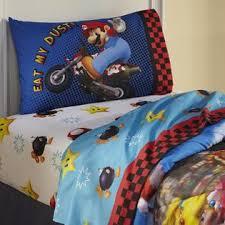 Mario Bedding Set Nintendo Mario Sheet Set