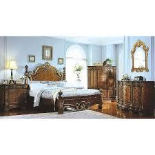 Pulaski Edwardian Nightstand Platform Bedroom Sets