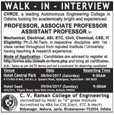 Sample Resume For Experienced Assistant Professor In Engineering College by Naukri Job Employment Walk In Interview For The Post Of