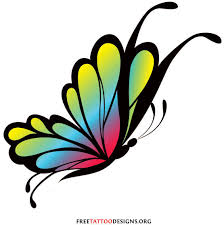 often a butterfly is a symbol of rebirth and transformation