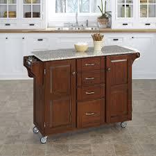 granite kitchen islands carts you love wayfair adelle cart kitchen island with granite top