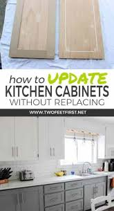 Modernize Kitchen Cabinets How To Update Kitchen Cabinets Without Replacing Them Twofeetfirst