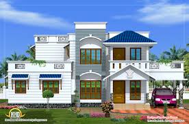 duplex house elevation sq ft kerala home trends with front designs