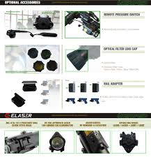 ak 47 laser light combo tactical rail mounted anti recoil resistant laser sight for ak 47