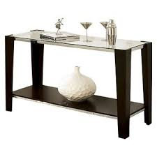 espresso console tables target
