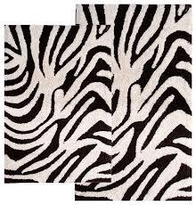 Zebra Bath Rug Zebra Bath Rug Microfiber Bathroom Rugs Set Non Slip Bath Contour