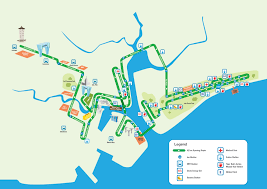 New York City Marathon Map by Organisers Announce Improved Singapore Marathon Route