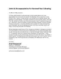 ideas collection sample college recommendation letter from youth