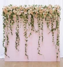 wedding backdrop gallery floral backdrop wedding best 25 flower wall wedding ideas on
