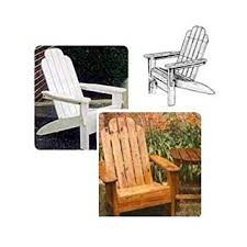 Build An Adirondack Chair Woodworking Project Paper Plan To Build Folding Adirondack Chair