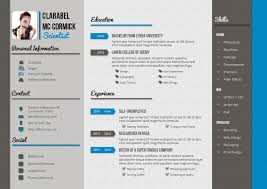 Simple Creative Resumes Adobe Indesign Resume Template Clean Resume Designs Free Indesign