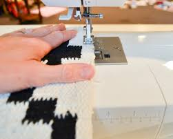 Custom Runner Rugs How To Sew Two Small Rugs Together To Make A Custom Runner The
