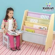 Kidkraft Avalon Tall Bookshelf White 14001 Book Shelves