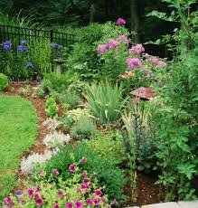 lawn garden easy flower bed edging ideas with ornamental