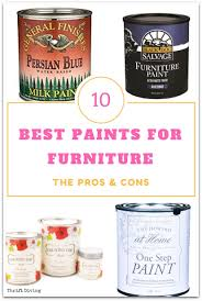 best paint for furniture what s the best paint for furniture thrift diving blog