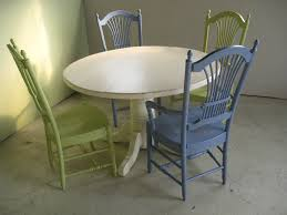 48 In Round Dining Table 48 Inch Round Farm Table In White Lake And Mountain Home