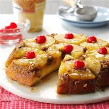 skillet pineapple upside down cake recipe taste of home