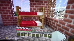 Minecraft How To Make A Bunk Bed How To Make A Bunk Bed In Minecraft