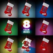 yew stuff pop lights meowy christmas holiday stocking