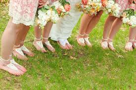 bridesmaid sandals bridesmaid barefoot sandals set of 6 barefoot sandals