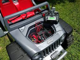 power wheels jeep a smarter jeep hurricane rc power wheel dad in a smart home