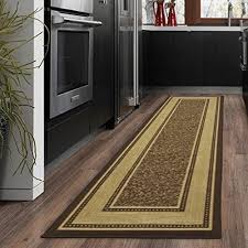 Rug In Kitchen With Hardwood Floor Kitchen Rugs For Hardwood Floors