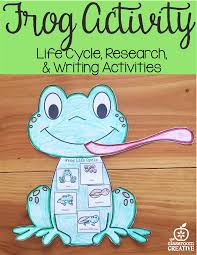 frog craft template for kindergarten 1st grade u0026 2nd grade
