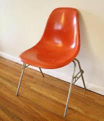 Herman Miller Armchair Herman Miller Orange Chair 4 Picked Vintage