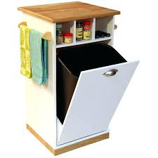 kitchen island storage table storage bins double trash bin storage table kitchen island can